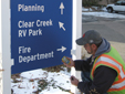 City of Golden, Colorado, Streamlines Street Sign Work With Pocket-Sized Handheld