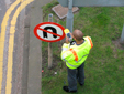 Real-time Submeter Data Collection Survey Of Signs And Road Markings