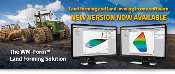 Trimble WM-Form Land Forming Solution