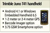 Trimble Juno T41