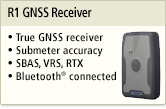 R1 GNSS Receivers